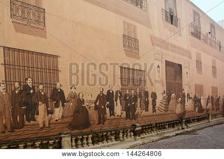 Mural De Mercaderes