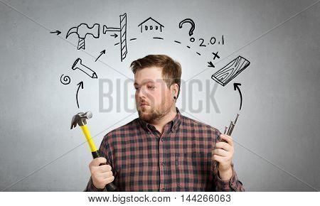 Home renovation and repair . Mixed media