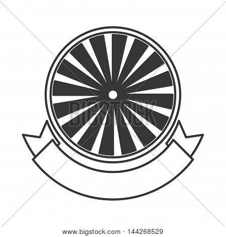 flat design badge stamp seal icon vector illustration