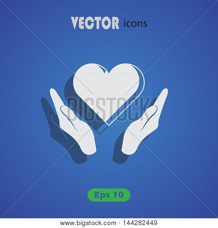 Heart - Valentine's Day vector icon for web and mobile