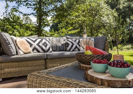 Relax In The Garden...