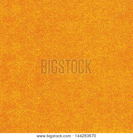 Orange texture with effect paint. Empty surface background with space for text or sign. Quickly easy repaint it in any color. Template in square format. Vector illustration swatch in 8 eps
