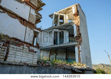 Old Abandoned Derelict Building