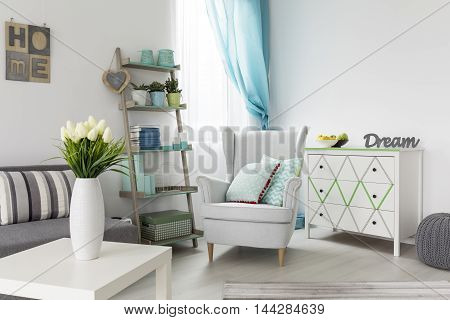 Comfortable Retro Armchair