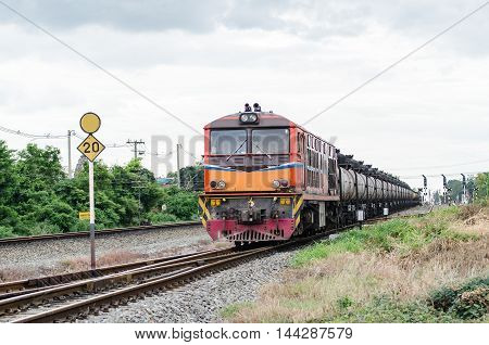 Thailand is a train running at rated speed at which the authorities have determined. On the other The result is double or triple that gave the convoy have time off from the source.