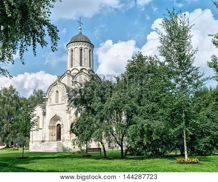 Spassky Cathedral of Andronikov monastery in Moscow Russia.
