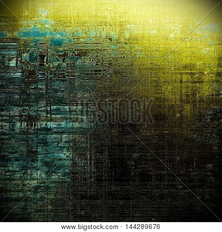 Beautiful retro background, nice looking ancient texture with different color patterns: gray; blue; yellow (beige); brown; cyan; black