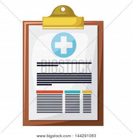 order clipboard isolated icon vector illustration design