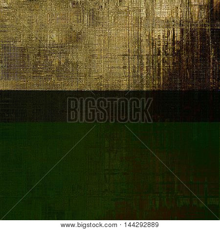 Abstract retro design composition. Stylish grunge background or texture with different color patterns: gray; yellow (beige); brown; black