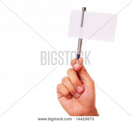 Pen And Card