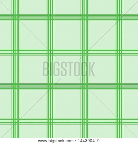 Tartan green seamless pattern. Fashion graphic background design. Modern stylish abstract texture. Colorful template for prints textiles wrapping wallpaper website. VECTOR illustration