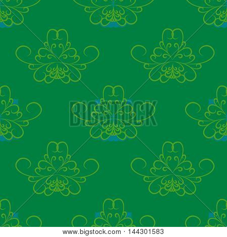 green blue abstract pattern wallpaper spiral flower graphic texture