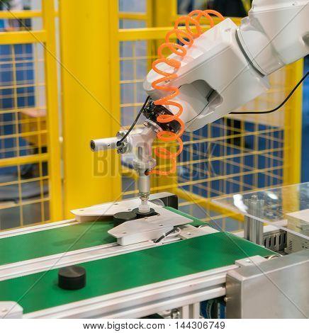 robotic hand machine tool