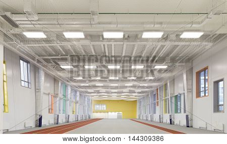 Empty Sports Hall