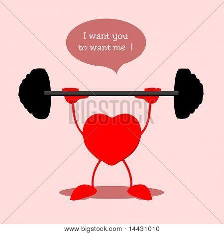 Heart bodybuilding