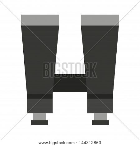 binoculars device isolated icon vector illustration design