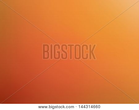 Abstract Gradient Red Orange Colored Blurred Background