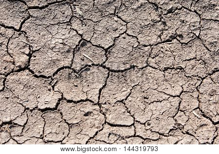 Texture, Background, Cracked From The Heat The Earth