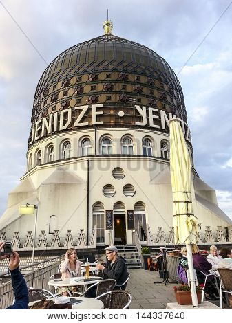 People Visit Former Tobacco Factory Yenitze