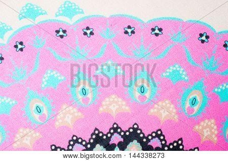 Fabric Silk Natural Texture