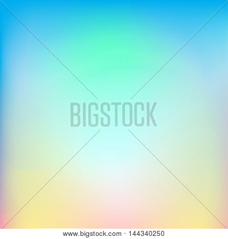 Colorful abstract background. Vector illustration. Blended sunrise sky color.