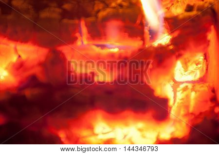 Texture fire. diffuse image, yellow, inferno, danger, black,