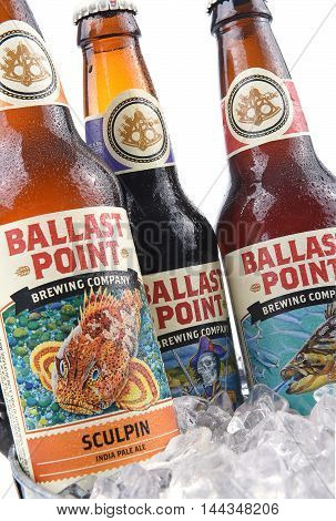 Ballast Point Ale In Ice