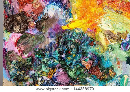 Painters palette . The artist's palette, artist, drawing, artistic,