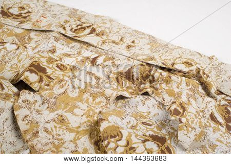 Texture, Background. Skin Pattern Embossed