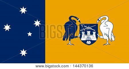 The flag of the Australian Capital Territory