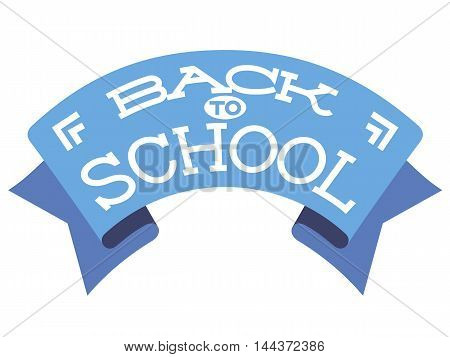 Back to school background, vector illustration. Design template