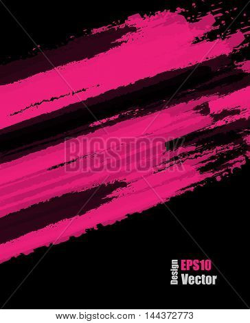 grungy vector background. Elements for design. Hand drawn ink blotchs. Vector texture. Eps10