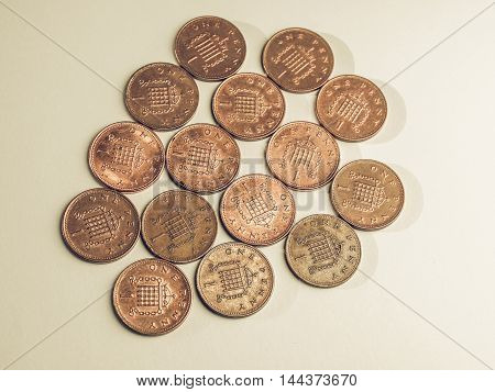 Vintage One Penny Coins