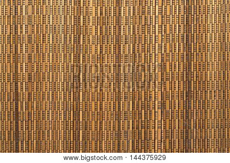 corrugated or fluted texture of brown yellow color for abstract tone or for wallpaper