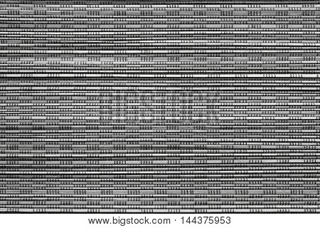 corrugated or fluted texture of monochrome color for abstract tone or for wallpaper