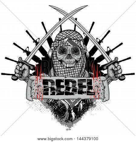 Arabic Skull-02.eps
