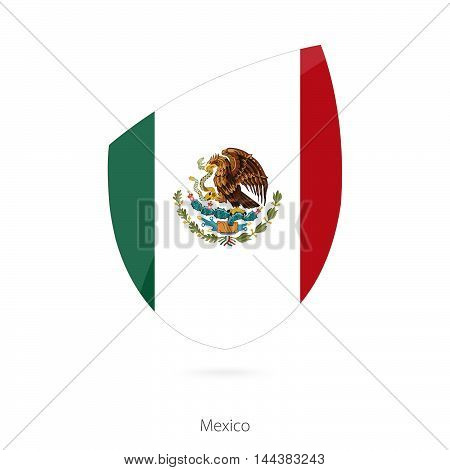 Flag Of Mexico. Mexican Rugby Flag.