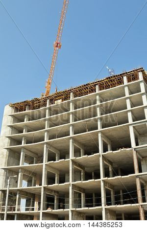 Construction Of Monolithic Multi-storey House