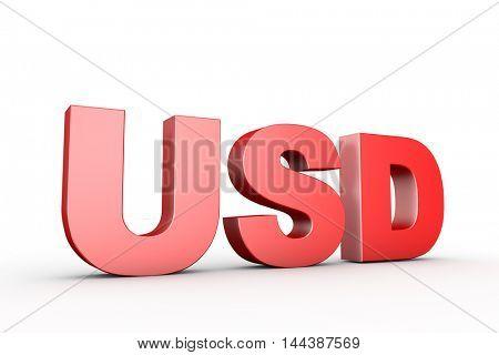 3d illustration sign dollar