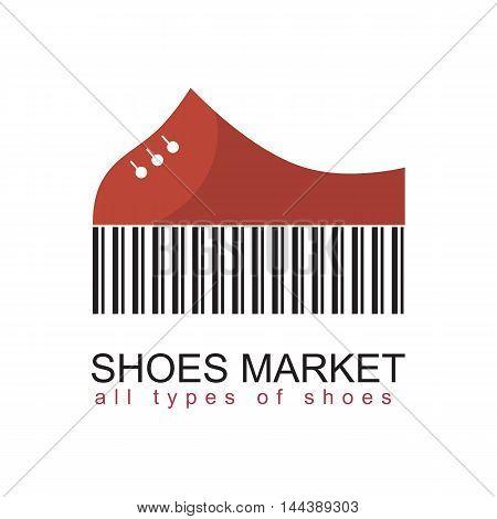 shoe symbol as a logo for a shoe shop