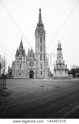 Matthias Church  is a Roman Catholic church located in Budapest