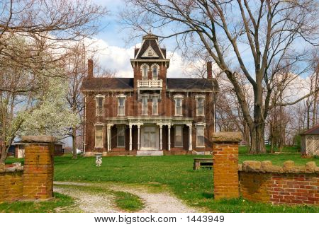 Historic 1800S Brick Home