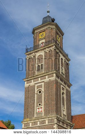 Tower Of The St. Lambert Church In Coesfeld
