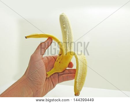 Banana With Peel
