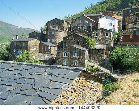 Typical stone village detail (Piódão - Portugal)
