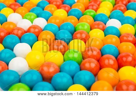 gummy ball candies  texture for background uses