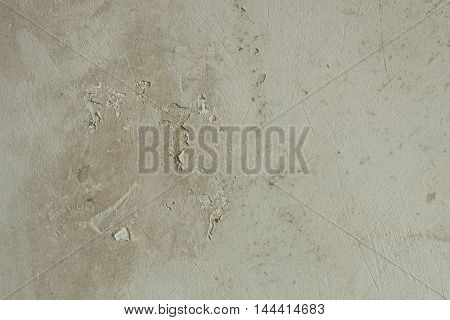 Old rustic concrete wall texture before home renovation. Grunge background