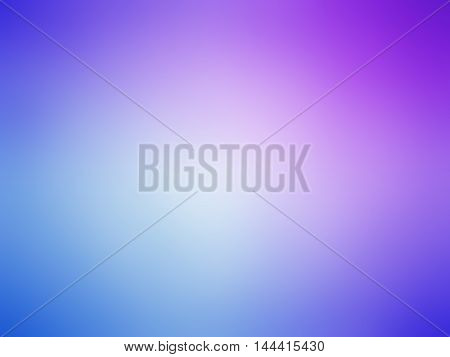 Abstract Gradient Purple Blue Colored Blurred Background