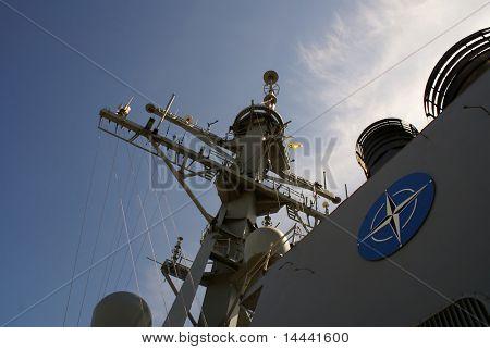 Part of NATO ship