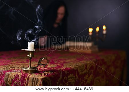 Candle In A Small Candlestick